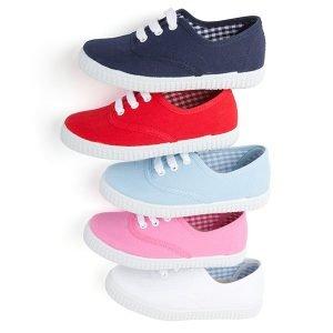 Zapatillas para niños de cordones