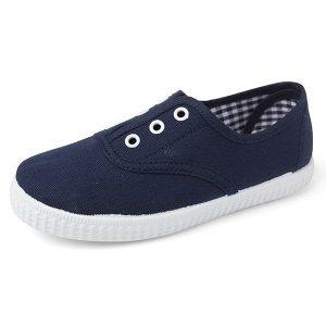 Compra zapatillas para niños de lona marino