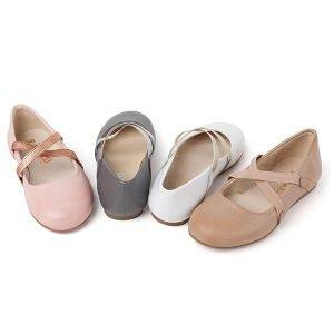 Bailarina para niña de piel con cruce