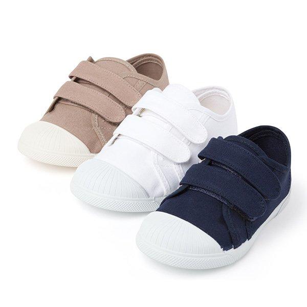 Zapatillas niños velcro y lona