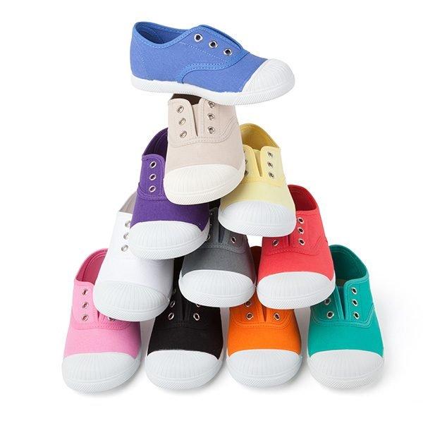 Zapatillas de lona con puntera