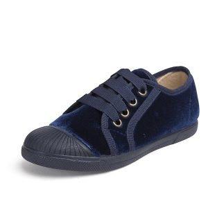Zapatillas terciopelo  marino