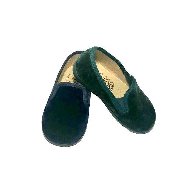 zapatillas de casa de terciopelo