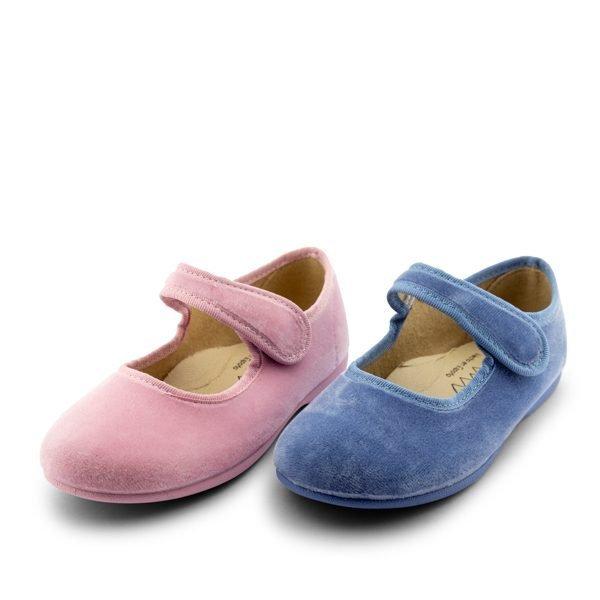 Zapatillas casa niñas terciopelo