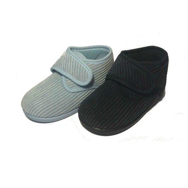 Zapatillas de casa de pana