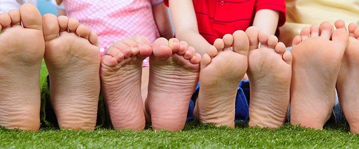 ¿Cuánto crece el pie de los niños?