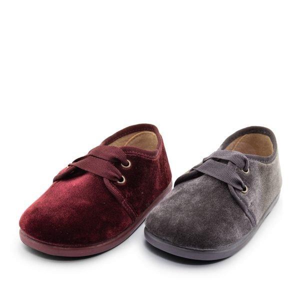 Zapatos de terciopelo peques
