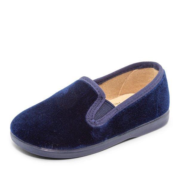 slipper terciopelo marinoq