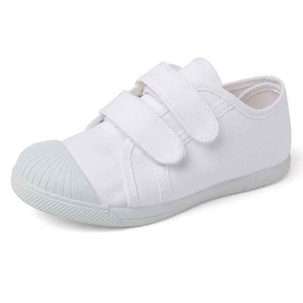 zapatillas con puntera y autocierre