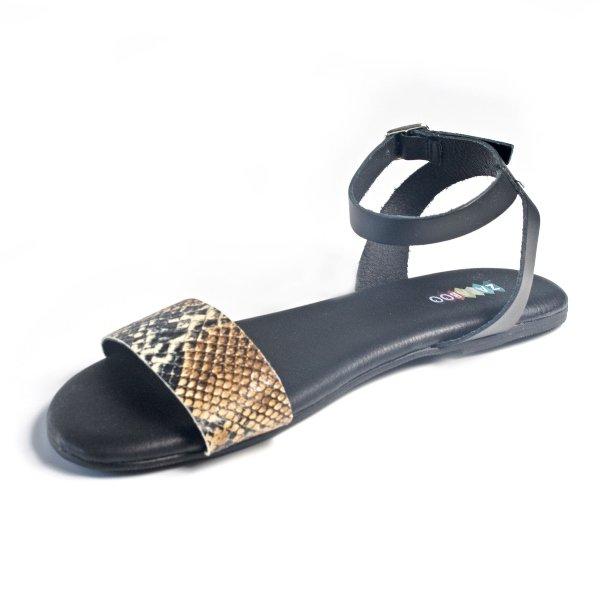 sandalias mujer serpiente