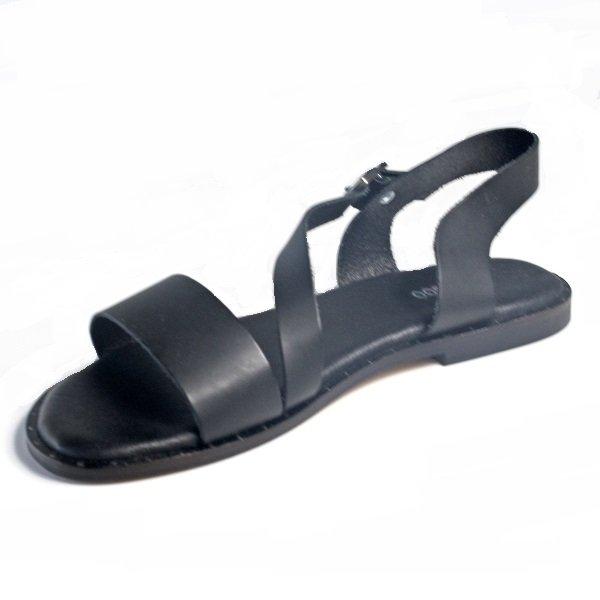 sandalias mujer piel